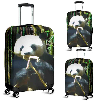 Artistic Printed Luggage Covers – Panda Bear - high quality prints in bright, bold and vibrant colors, designed to give your luggage its own special identity. Unique to MyEmporium.com - a world of style just for you
