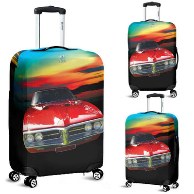 Artistic Printed Luggage Covers – Prestige Cars 03-Pontiac - high quality prints in bright, bold and vibrant colors, designed to give your luggage its own special identity. Unique to MyEmporium.com - a world of style just for you