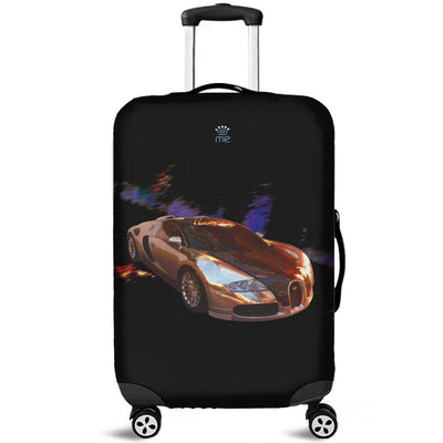 Artistic Printed Luggage Covers – Prestige Cars 04-Bugatti - high quality prints in bright, bold and vibrant colors, designed to give your luggage its own special identity. Unique to MyEmporium.com - a world of style just for you