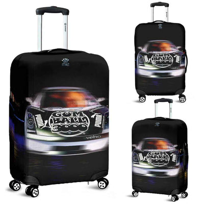 Artistic Printed Luggage Covers – Prestige Cars 05-Rally Car - high quality prints in bright, bold and vibrant colors, designed to give your luggage its own special identity. Unique to MyEmporium.com - a world of style just for you