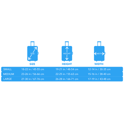 Artistic Printed Luggage Covers – Party Series 01