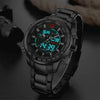 Analogue & Digital Display Sports Chronograph Watch
