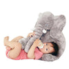 Baby Sleep Mate – Stuffed Plush Baby Elephant – Large Multifunction Pillow