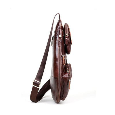 Genuine Leather Cross-body Men's Shoulder Bag