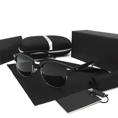 New Retro Design Polaroid Sunglasses for Men