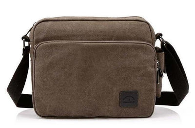 Multifunction Canvas Messenger Bag for Men