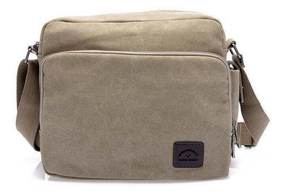 Canvas Messenger | Cross-body Bag for Men