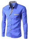 Men's Business Dress Shirt - Slim Design