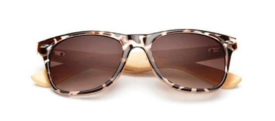 Retro Bamboo Wooden Sunglasses for Women