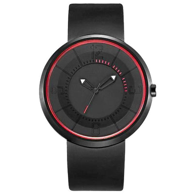 Minimalist Futuristic Men's Designer Watch