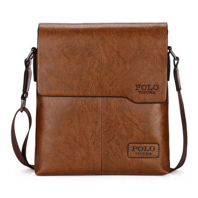 Men's Messenger Bag - Shoulder Bag - Cross-body Bag