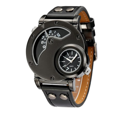Luxury Vintage Fashion Timepiece Collection with leather straps - A watch for distinguished