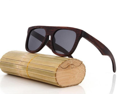 Quality Unisex Polarized Casual Wooden Sunglasses