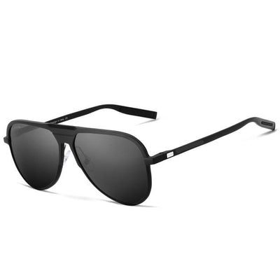 Polycarbonate polarized lenses and lightweight aluminium frames - quality sunglasses for men