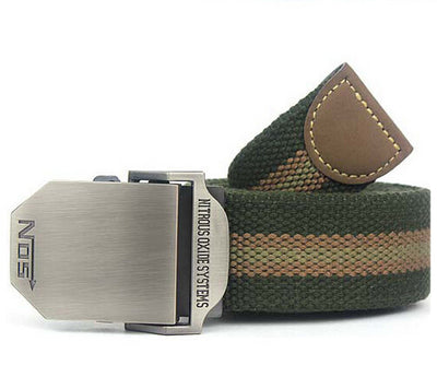 Men's Fashion Strap Belts - Canvas Webbing