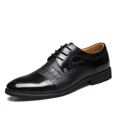 Dress Shoes for Men - Crocodile Leather Pattern