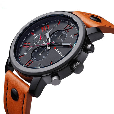 Casual Military-Style Analog Quartz Watches for Men