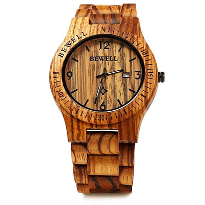Crafted Wooden Designer Watch for Men - nice watches for men