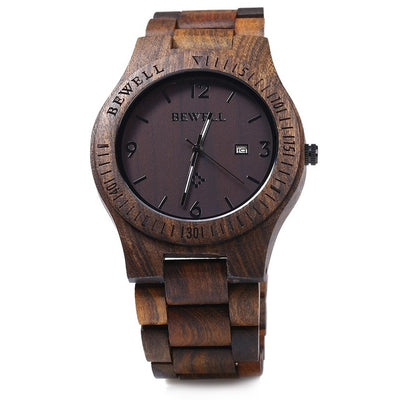Men's Luxury Watches - Crafted Wooden Designer Watch