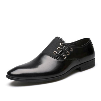 Men's Black and Brown Dress Shoes