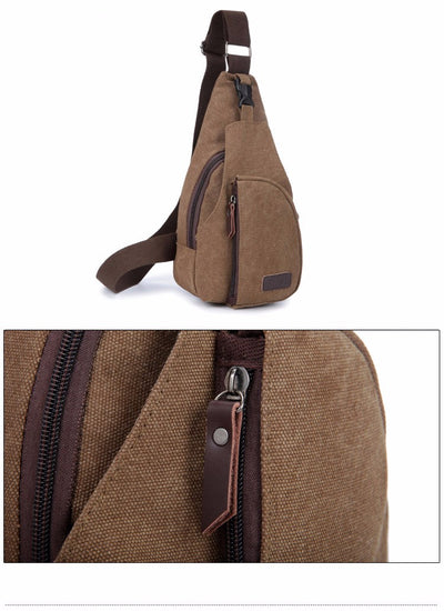 Canvas Fashion Men's Shoulder Bags