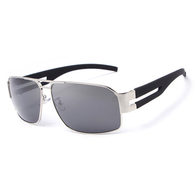 Aluminium Retro-Style Polarized Men's Sunglasses