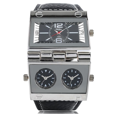 Men's Designer Vintage Watch - Eccentrique Precisionist Helios Pacer
