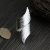 Sterling Silver Winged-Style Ring Women