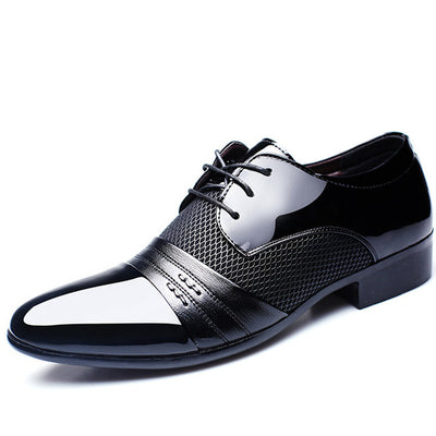 Oxford Dress Shoes for Men - High Quality Patent Leather