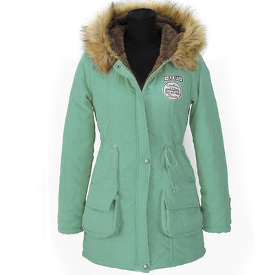 Women's Jackets - Cotton Down Fashion Winter Coats