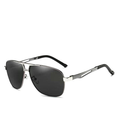 Polarized Square Lens Designer Sunglasses for Men