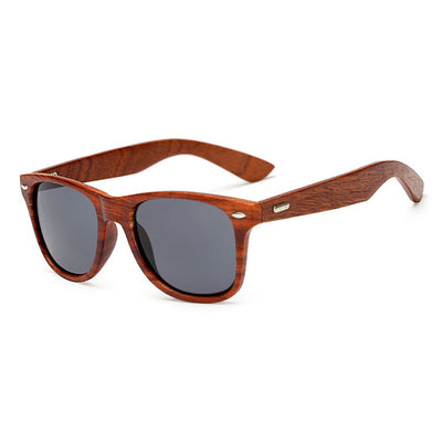 Designer Style Wooden Sunglasses for Men