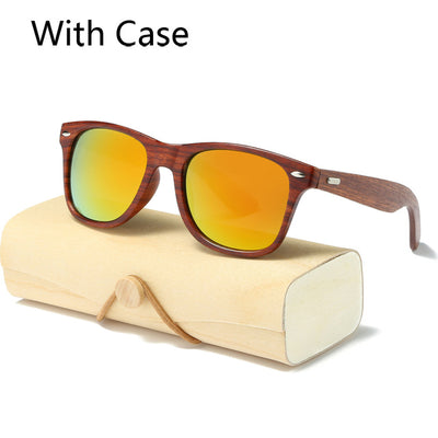 Men's Designer Sunglasses - Handmade Wood