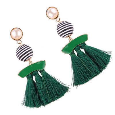 Women's Earrings - Vintage Statement Long Tassels