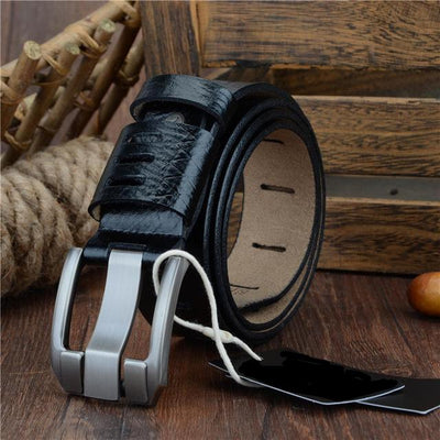 Men's Fashion Or Casual Quality Leather Belts