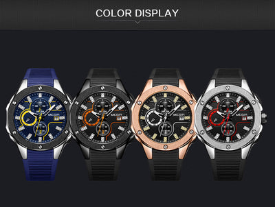 Military Watches - Sports Chronograph Watch for Men