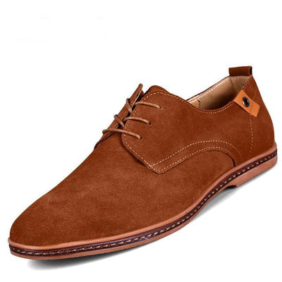 Casual Suede Leather Oxford Shoes - for Loafers