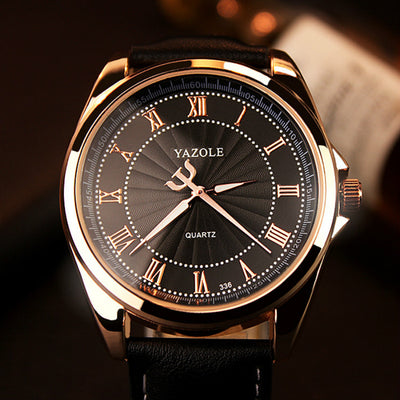 Luxury Formal or Casual Fashion Style Dress Watch - nice watches for men
