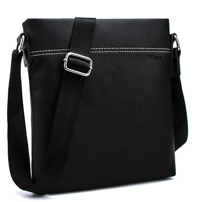 Leather Messenger and Cross-body Bag for Men