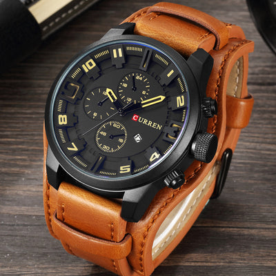 Casual Fashion Military-Style Sports Watches for Men