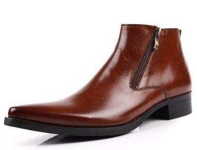 Men's Boots - Genuine Soft Leather Dress Boots