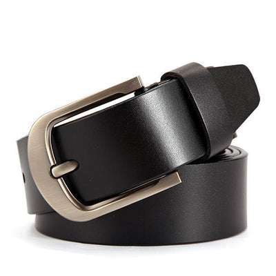 Classic Design Casual Leather Belts For Men