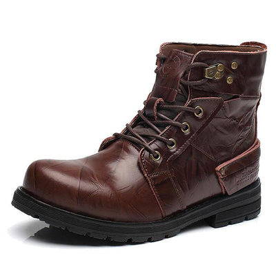 Crafted Handmade Leather Boots with Normal or Fur Lining