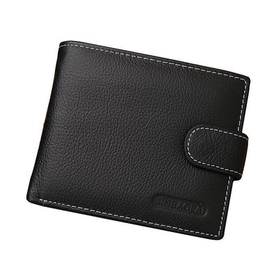 Classic Design Fashion - Men's Leather Wallet