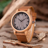 Wooden Crafted Bamboo Designer Watch for Men