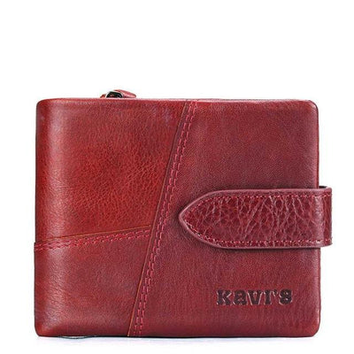 Men's Leather Wallet Set - Two Piece Medium And Small
