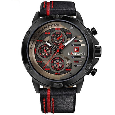 Luxury Waterproof Sports Quartz Watch For Men