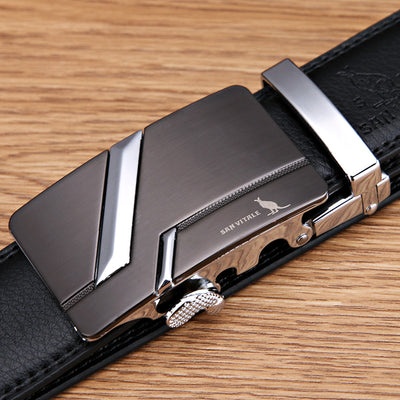 Men's Luxury Fashion Genuine Leather Belts