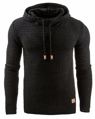 Casual Fashion Woven Hoodie For Men