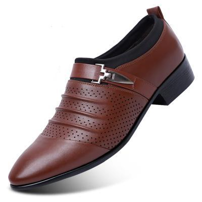Men's Dress Shoes - Oxford Formal Slip-On or Lace-Up